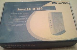 Коробка «SmartAX MT880»