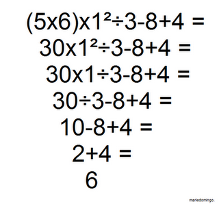 Order Of Operations_07 on Grade 5 Math Equation