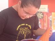Fran na feira do livro de Porto Alegre 2008