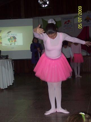 Bailarina Gislaine.