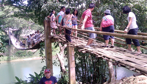 The Hanging Bridge Bohol