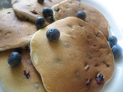 Light and Creamy Ricotta Pancakes