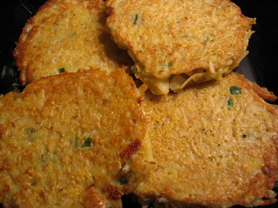 Spicy Potato Pancakes