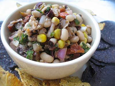 Black-Eyed Pea Salsa | Lisa's Kitchen | Vegetarian Recipes | Cooking ...