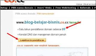 Register domain co.cc