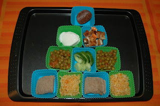 Muffin Tin Monday Food Pyramid