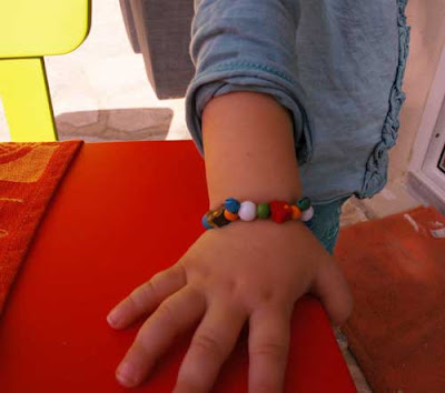 toddler crafts bracelet