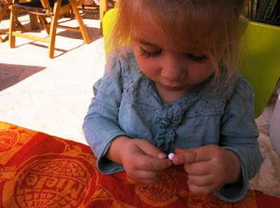 toddler crafts threading beads