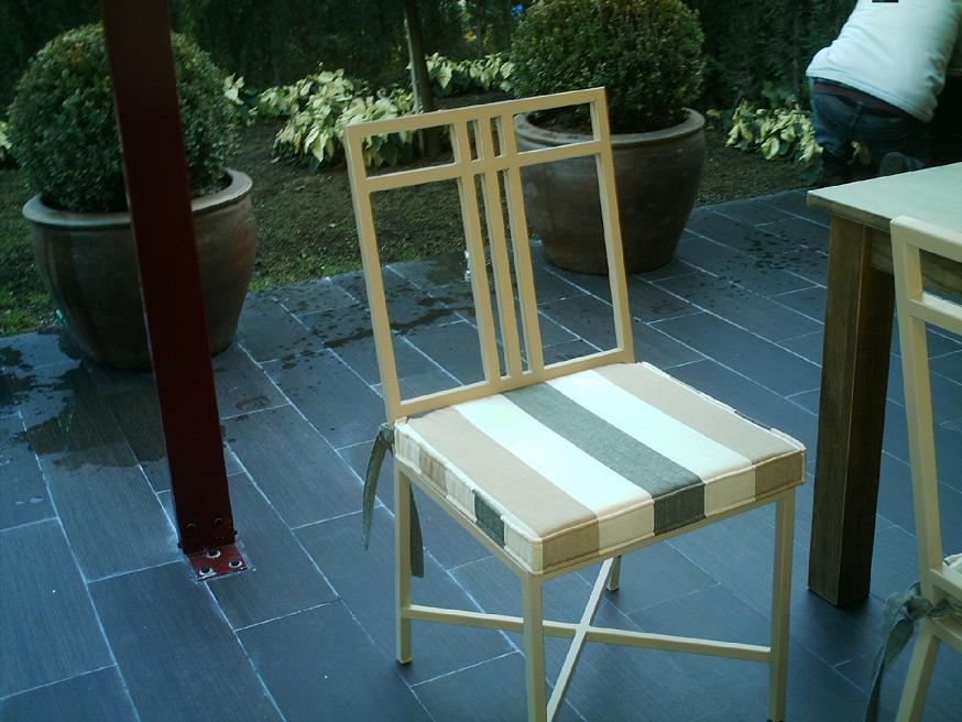Espumas mexicanas cojines para sillas for Cojines para sillas walmart