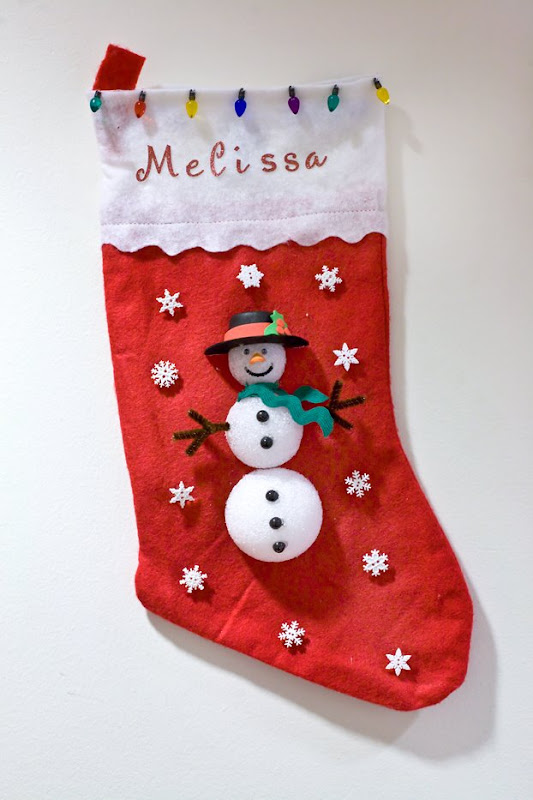 melissa - Christmas Socks Decoration