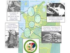 Regiones vinculadas a la campaña en Colombia