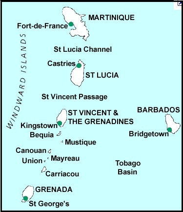 Obryadii00 Maps Of Windward Islands