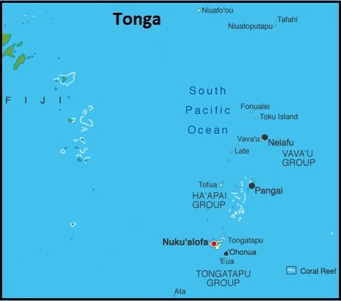 The Slow Track to Everywhere Tonga Vavau Group