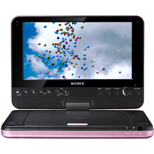 pink sony dvp fx820 is a winning portable dvd player funny wallpaper love. Black Bedroom Furniture Sets. Home Design Ideas
