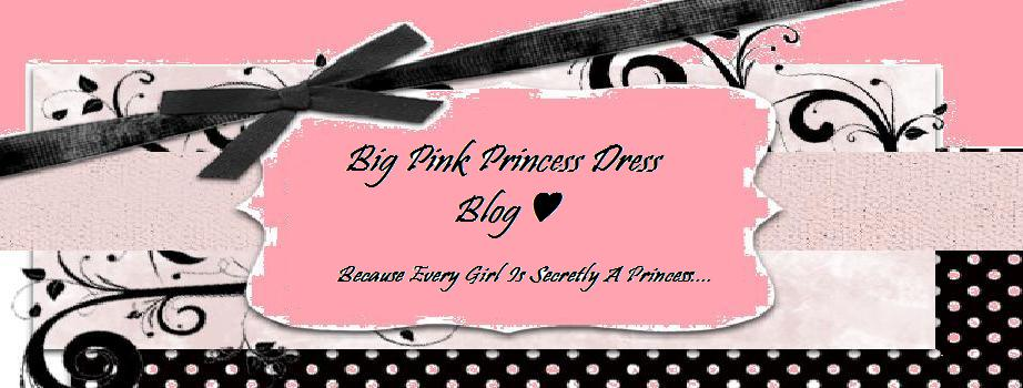 Big Pink Princess Dress