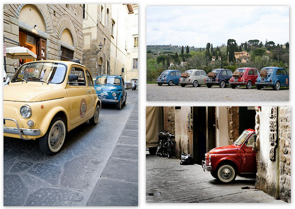 Fiat 500s Tours in Florence