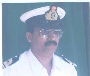 Lt Cdr Faiz Afzaluddin