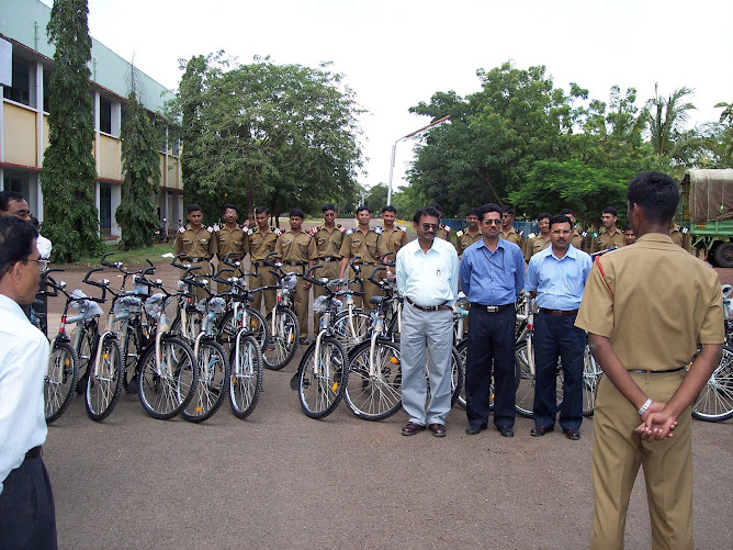Cycle Donation to School by the batch