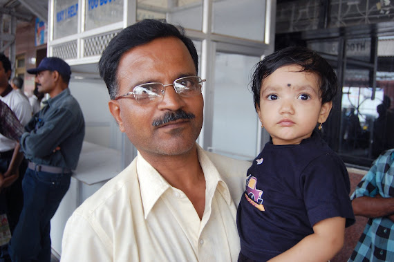 Ananya with her uncle 7