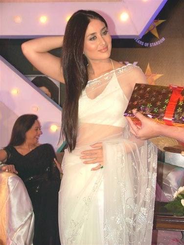 Tattoo kayu: Kareena Kapoor In Saree