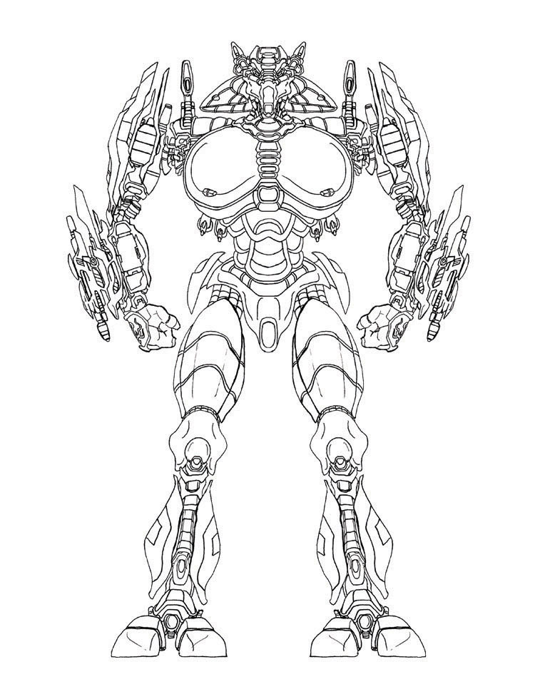 Telakai Battle Droid - Arte Conceptual