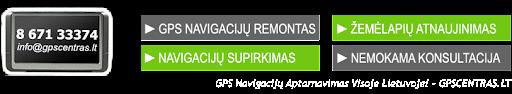 Kur Atsinaujinti GPS Navigacijos Žemėlapius?