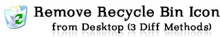 How to Remove Recycle Bin Icon from Desktop