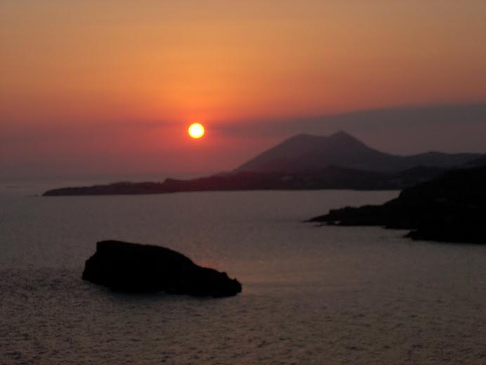 La posta de sol més bonica de Grècia