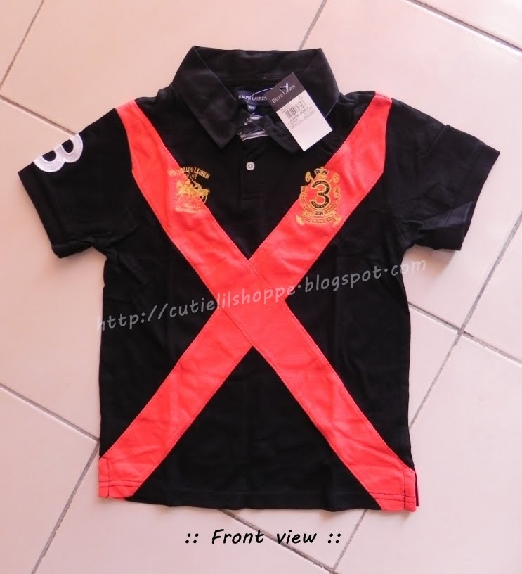 Original Polo Ralph Lauren Kids. Code: RL 002. Price: RM 42
