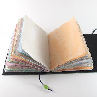 etsy blog, Kreativlink, book ends, handmade paper, etsy.com