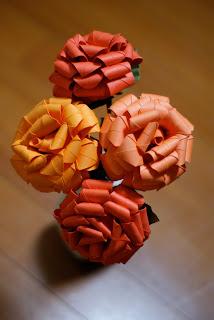 oragami fortune cookies, paper flowers, valentines day; valentines day gifts for him; valentines gifts; valentines wedding; valentines ideas