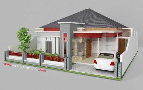 jasa desain rumah on jasa desain rumah rumah pak wicara 2 Gambar Gambar Desain Rumah ...