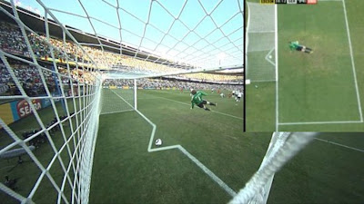 Frank Lampard's goal against Germany didn't cross the line, THBN