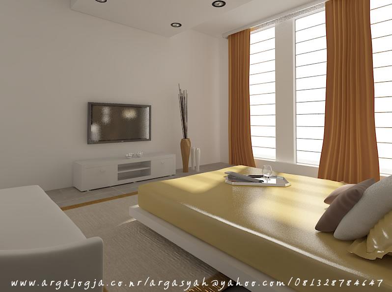 Design Interior Apartemen 2 Kamar