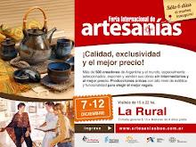 Stand en Feria internacional de artesanias