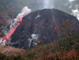 Hasil gambar untuk lava Gunung Merapi