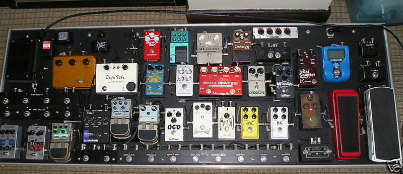 Life In The Abstract The Psychology Of Pedalboards