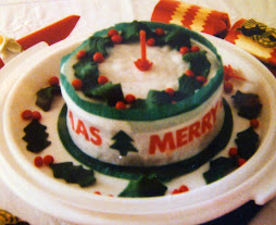 CHRISTMAS CAKE 1980