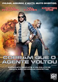 Filme Poster Corram Que o Agente Voltou DVDRip XviD Dual Áudio & RMVB Dublado
