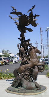 Sculpture at West Valley Animal Care Center, photo by Rosemary West © 2009