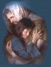 Jesus te tiene en sus brazos