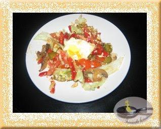 Salata cu sos de soya si susan