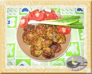 Chiftele cu cartof dulce