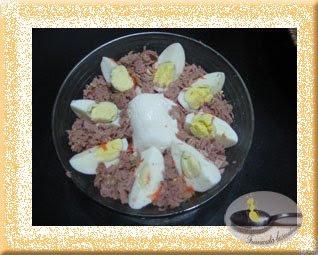 Salata de ton cu oua