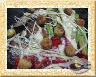 Salata cu  bilute de labane