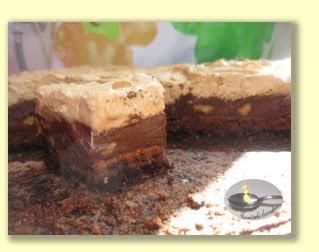 Tort cu ciocolata si crema mocca-brandy