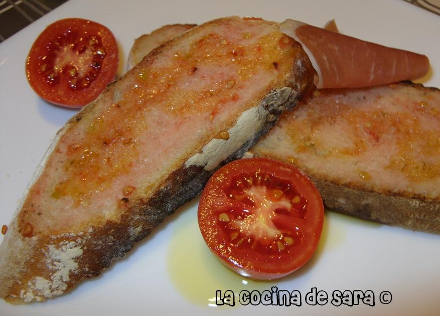 la cocina de sara pan con tomate