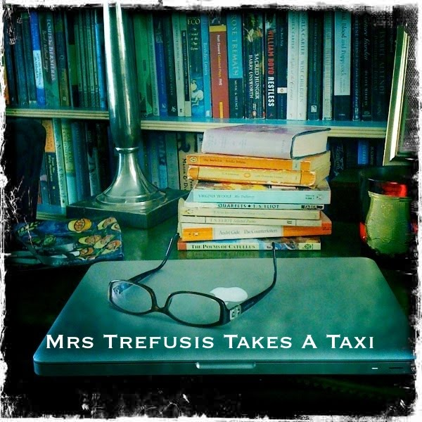 MRS TREFUSIS TAKES A TAXI
