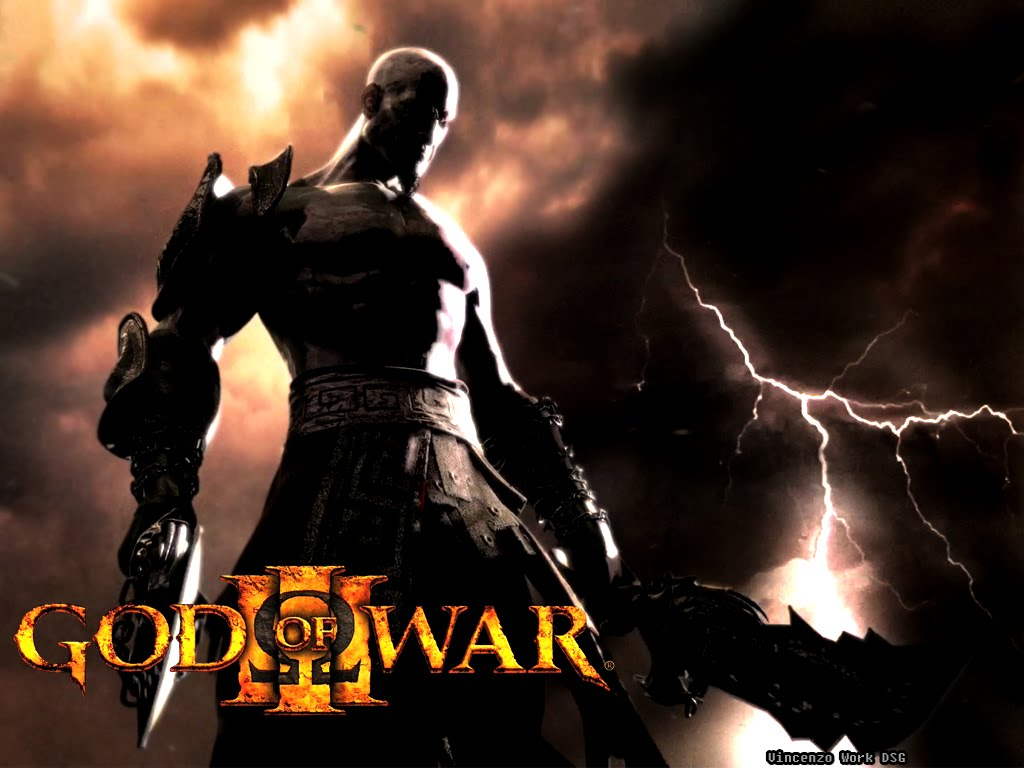 God of War 3 - The game's movie affiche