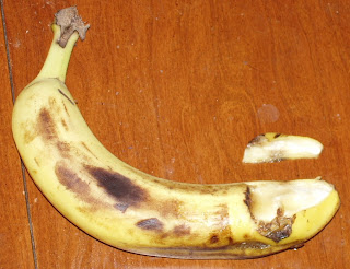 Molested banana